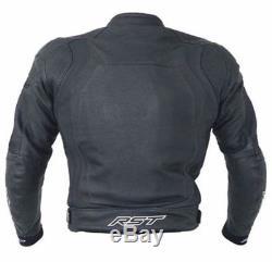 Rst Blade 2 Ladies Leather Jacket Motorcycle Waterproof Road Bike Jacket Woman