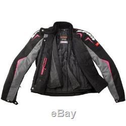 SPIDI H2OUT SPORT LADY Jacket MOTORCYCLE WATERPROOF TEXTILE BIKE JACKET PINK