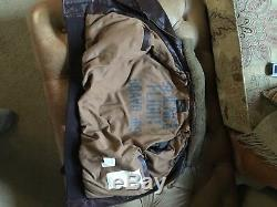 Scotch And Shrunk Soda, Boys, Brown Real Leather Jacket Size Age 7-9