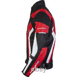 Spada Curve Leather MOTORCYCLE JACKET SIZE 42 Sport Race motorcycle Black/Red