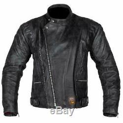 Spada Road Urban Custom Retro Cruiser Motorcycle Motorbike Men's Leather Jacket