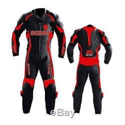 Suzuki Gsxr Motorcycle Leather Suit Motogp Motorbike Leather Jacket Trouser