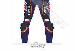 Suzuki Rizla Motorcycle Leather Suit Men Racing Motorbike Leather Jacket Trouse
