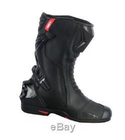 Textile Waterproof Motorbike Motorcycle Sport Jacket Biker Armoured Leather Boot