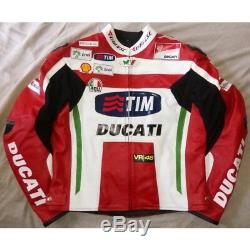 The Dactor Tim Ducati Motogp Racing Leather Jacket