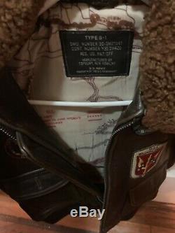 Top Gun Leather Jacket Kids TYPE-G1