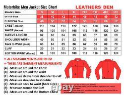 VR46 Motorbike Motorcycle Rider Leather Jacket LD-46-2020 (US 38-48)