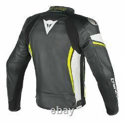 Valentino Rossi VR46 Motogp Motorcycle Leather Jacket