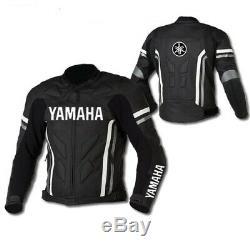 Valentino Rossi VR46 Motorcycle Leather Jacket Motorbike Leather Jacket Yamaha
