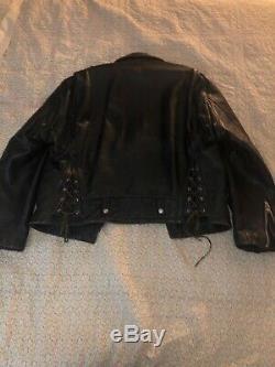 Vintage Boy London Leather Jacket