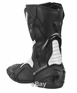 Waterproof Motorbike Racing Cordura Suit Motorcycle Jacket Trouser Leather Boots