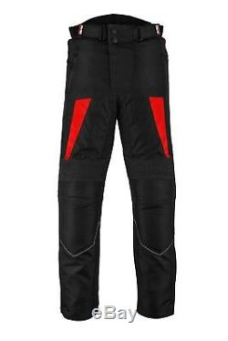 Waterproof Motorcycle Motorbike Suit Set Jacket Trouser Leather Riding Boots CE