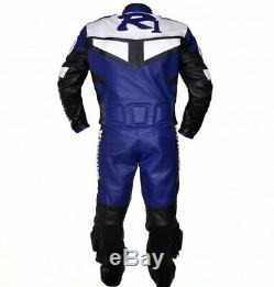 YAMAHA R1 Men Racing Biker Leather Suit Motorbike/Motorcycle Leather Jacket Pant