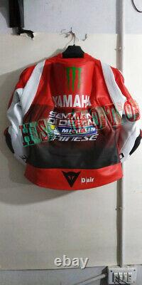 Yamaha Brand New Motorcycle Motorbike Racing Leather Jacket