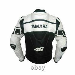 Yamaha Motorbike/Motorcycle Leather Racing Jacket BLACK, BLUE, GREEN, RED