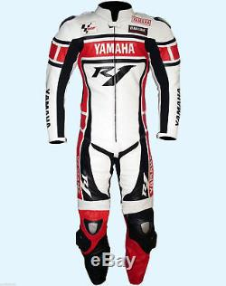 Yamaha R1 Motorcycle/Motorbike leather suit MotoGp suit Racing Biker jacket/pant
