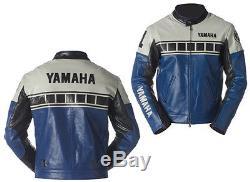Yamaha Style Motorcycle Leather Jackets Leather jackets Bikers jackets